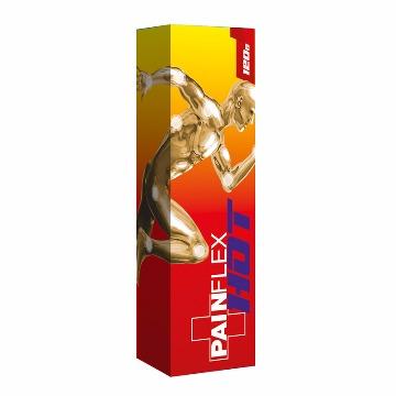 21966 Painflex Hot Pomada com Rahda 120 Gramas