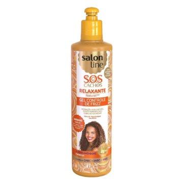 347021 Gel Controle De Frizz S.O.S Cachos Relaxante Natural Salon Line 320ml