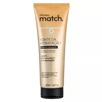 70045 Shampoo Fonte de Hidratação Match Boticário 250ml