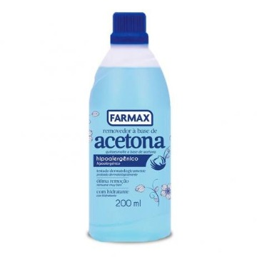 209176 Removedor de Esmalte Base Acetona Farmax 200ml