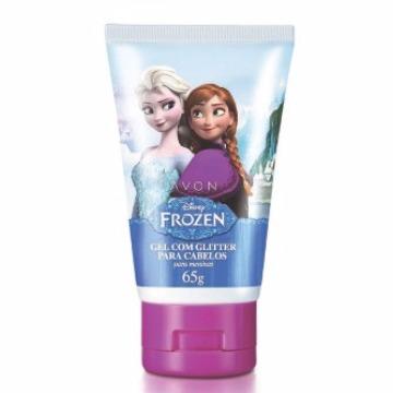 505169 Gel Glitter Cabelos Frozen Avon 65g