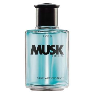 147953 Colônia Musk Freeze Avon 90ml