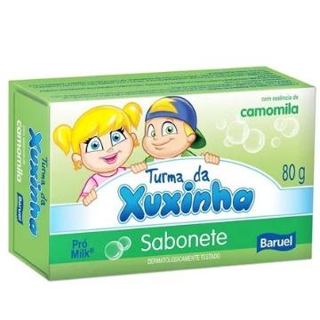 159568 Sabonete Barra Turma da Xuxinha Camomila Baruel 80g