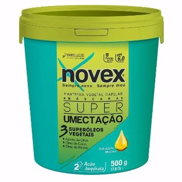 10293 Máscara Novex Super Umectação Super Óleos Vegetais 500g
