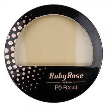 12847 Pó Compacto Facial PC3 Ruby Rose 10,5g