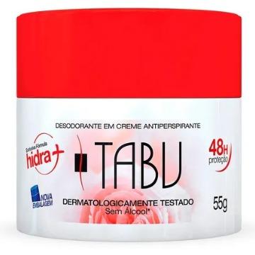 508514 Desodorante Creme Tradicional Tabu 55g