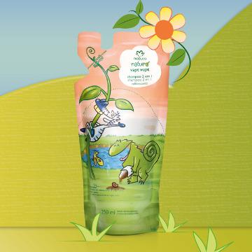 27381 Shampoo Naturé Vapt Vupt 2 em 1 Refil Natura 250ml