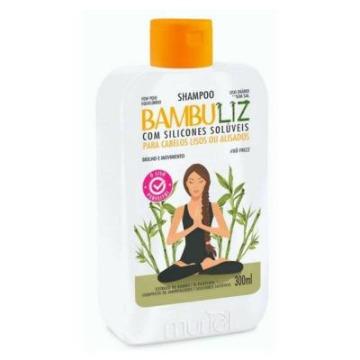 115254 Shampoo Bambuliz Cabelos Lisos ou Alisados Muriel 300g
