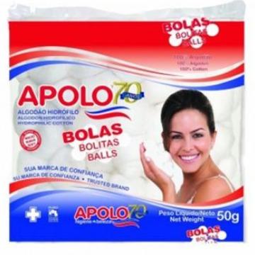 410717 Algodão Bolas Apolo 50g