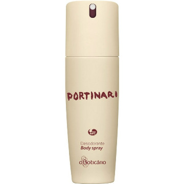 23490 Desodorante Spray Portinari Regular Boticário 100Ml