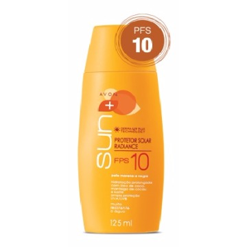 504642 Protetor Solar Sun FPS 10 Avon 125ml