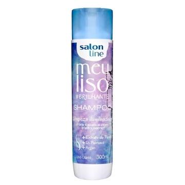 349513 Shampoo Meu Liso Brilhante Salon Line 300ml