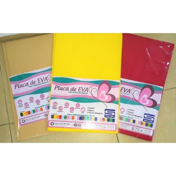 Placa de Eva 60x40 - cores diversas