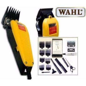 Máquina De Cortar Cabelo Profissional Amarela Home Cut Wahl 110