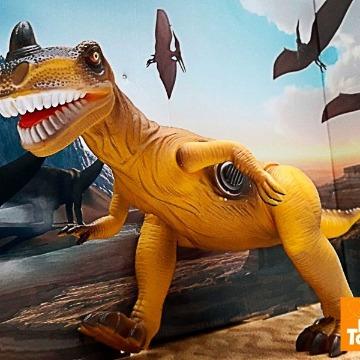 Dinopark Tiranossauro Rex Com Som