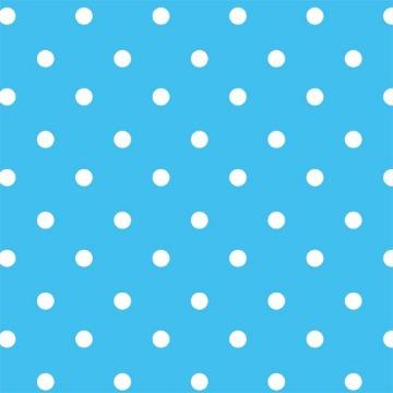 Papel Adesivo 45cmx10m Poa Azul - KAZ