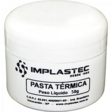 Pasta Termica Thermal Silver 50g Implastec