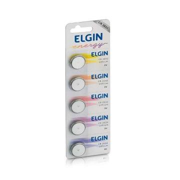Bateria Litio 2032 (3V) Cartela C/ 5 - Elgin