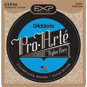 EXP46 CORDA VIOLAO NYLON PRO.ARTE HARD TENSION