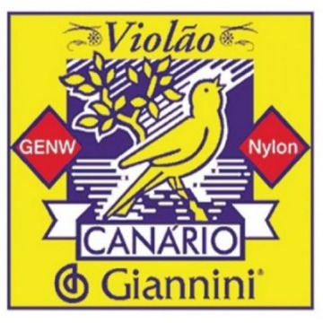JG CORDA VIOLAO NAILON CANARIO GENW