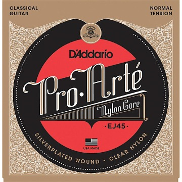 EJ45 DADDARIO VIOLAO NYLON PRO ARTE NORMAL TENSION