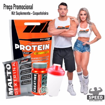 KIT PROTEIN COMPLEX + MALTO + CREATINA NEW MILLEN