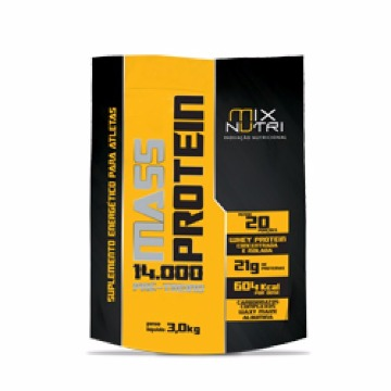 MASS PROTEIN 3KG CHOCOLATE SACO MIX NUTRI