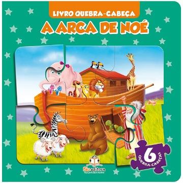 Livro Quebra-cabeça Pequeno: A Arca de Noé
