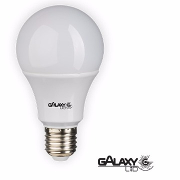 LAMPADA LED BULBO 07W  A60 3000K BIVOLT GALAXY