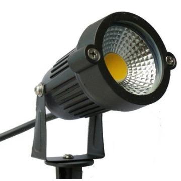 ESPETO JARDIM LED COB 5W BRANCO QUENTE IP65 XLX