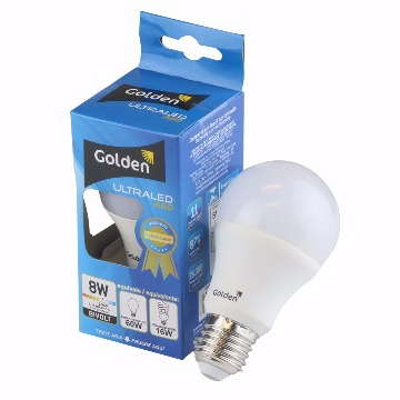 LAMPADA LED BULBO 08W A60 6500K BIVOLT GOLDEN