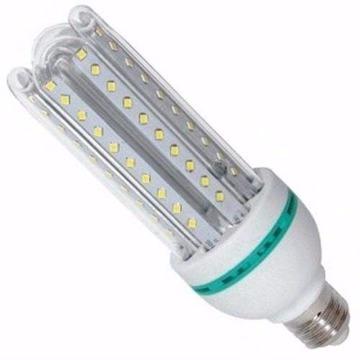 LAMPADA LED TIPO U VIDRO 12W FRIA 6400K BIVOLT DS