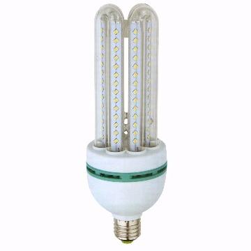 LAMPADA LED TIPO U VIDRO 9W FRIA 6400K BIVOLT DS