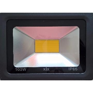REFLETOR LED 100W COB QUENTE IP66