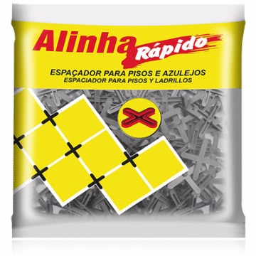 ESPACADOR DE PISOS 1MM ALINHA RAPIDO