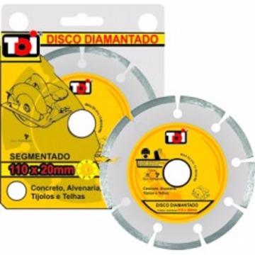 DISCO DIAM 110X50 SEGMENTADO TOI