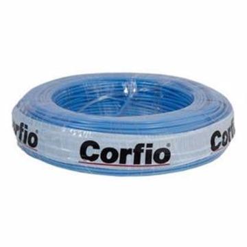 FIO FLEX. 6,0MM AZUL CORFIO (METRO)