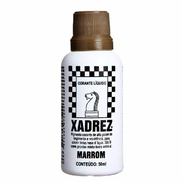 CORANTE LIQUIDO MARROM 50ML XADREZ