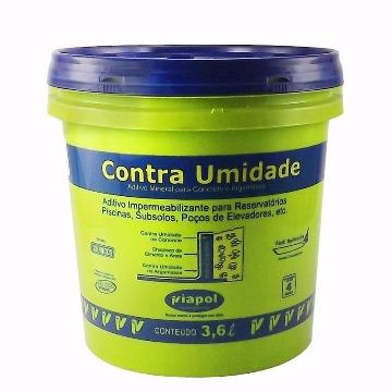 CONTRA UMIDADE PAREDE  3,6LTS VIAPOL (REF. VEDACIT)