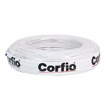 FIO FLEX. 6,0MM BRANCO CORFIO (METRO)