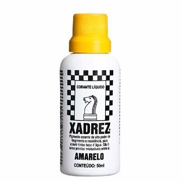 CORANTE LIQUIDO AMARELO 50ML XADREZ
