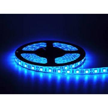FITA LED SUPER LED 5050 AZUL ROLO 5 METROS