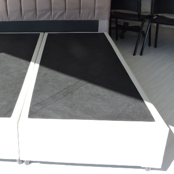 BOX BASE Casal QUEEN 1,58 x 1,98  Corino / Suede