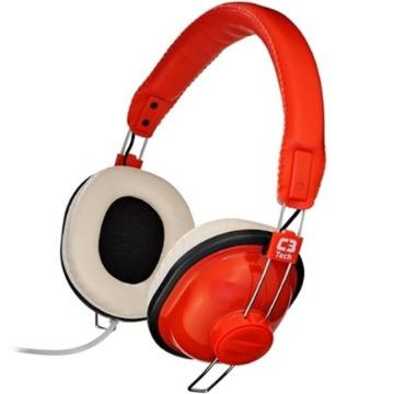 Fone de Ouvido C3Tech Gamer Nessie MI-2818RRV2 Vermelho e Branco