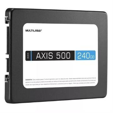 SSD 240GB Multilaser Axis 500 SS200 Sata III 6Gb/s