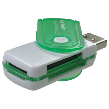 Adaptador USB para Cartão SD 15 in 1 Card Reader
