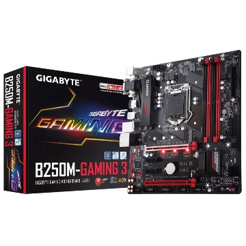 Placa Mãe Gigabyte GA-B250M-GAMING 3 DDR4 LGA1151