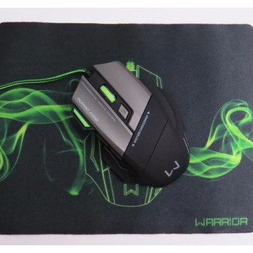 Mouse Multilaser Warrior MO207 3200DPI Fire Button + Mousepad Gamer