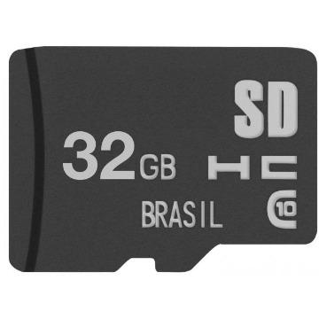 Cartão MicroSD 32GB Multilaser MC145 Class 10