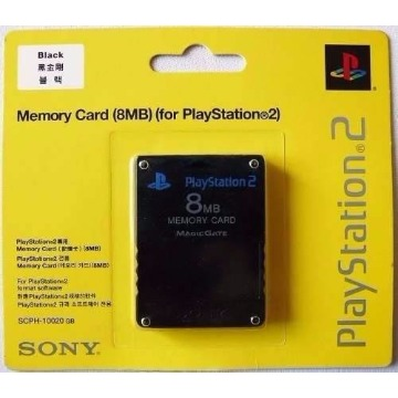 Memory Card PS2 Sony 8Mb